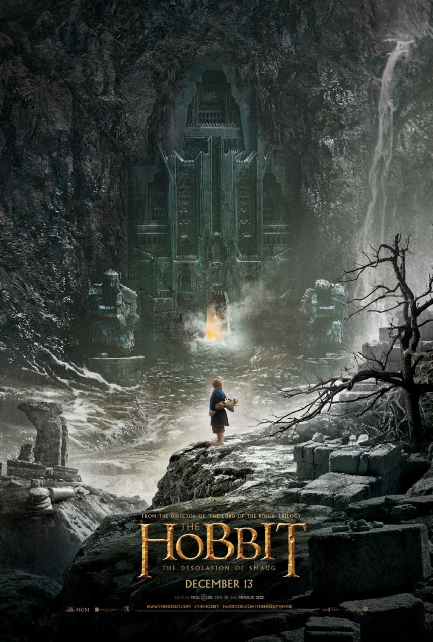映画『ホビット 竜に奪われた王国 (2013) THE HOBBIT: THE DESOLATION OF SMAUG』ポスター(2)▼ポスター画像クリックで拡大します。