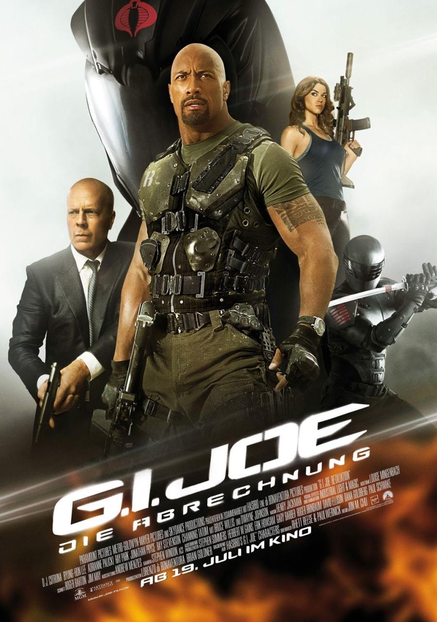 映画『G.I.ジョー バック2リベンジ (2013) G.I. JOE: RETALIATION』ポスター(7) ▼ポスター画像クリックで拡大します。