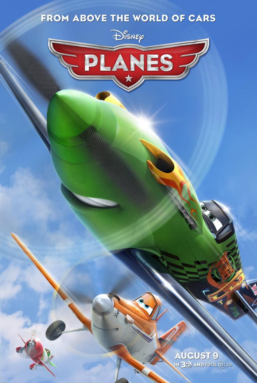 映画『プレーンズ (2013) PLANES』ポスター(1) ▼ポスター画像クリックで拡大します。
