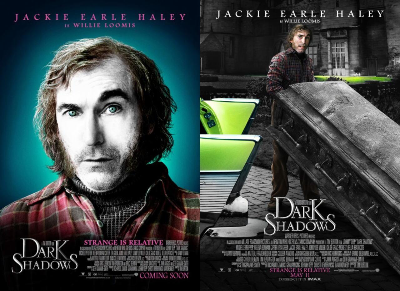 映画『ダーク・シャドウ DARK SHADOWS』ポスター(7) ▼ポスター画像クリックで拡大します。