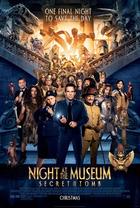 映画『 ナイト ミュージアム/エジプト王の秘密 (2014) NIGHT AT THE MUSEUM: SECRET OF THE TOMB 』ポスター