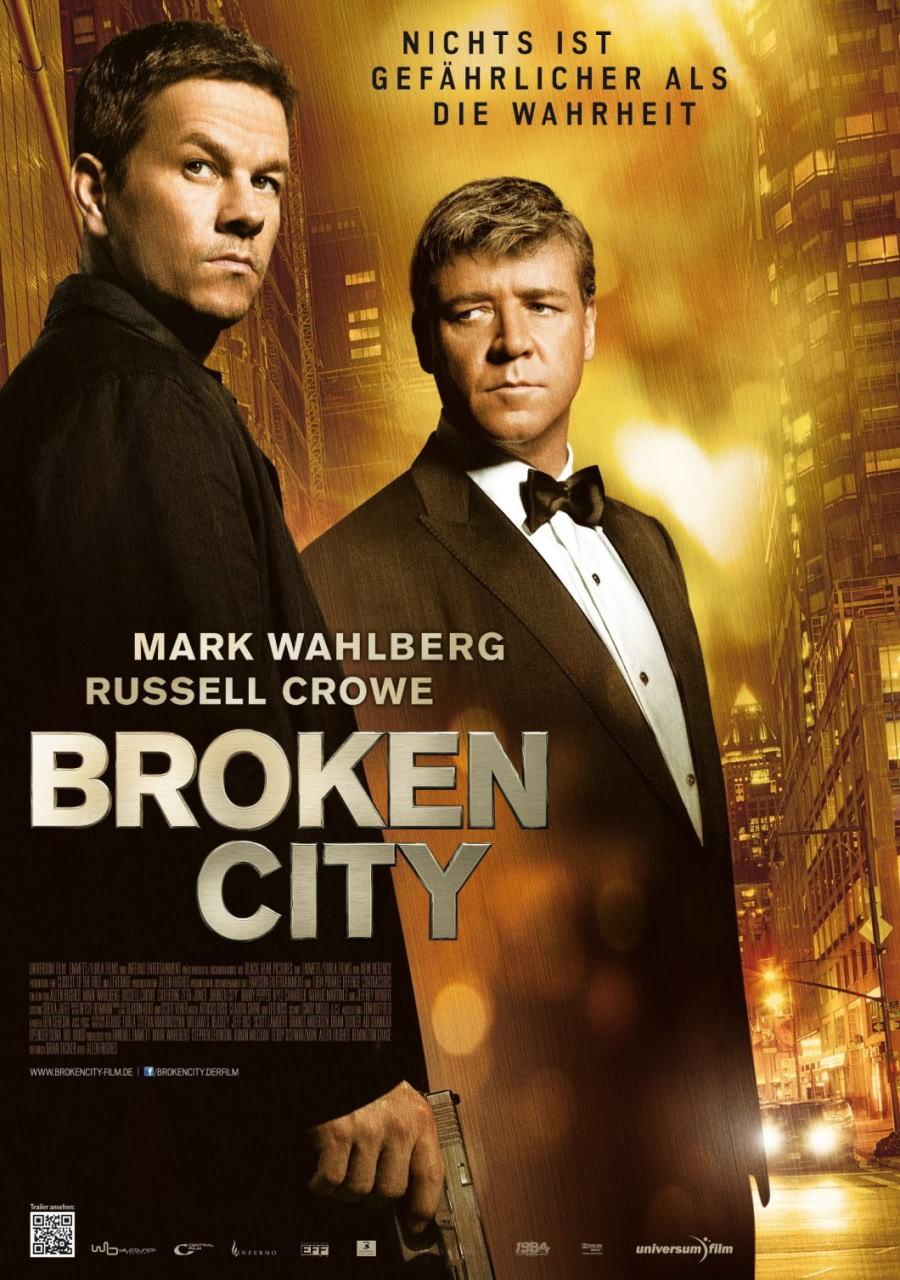 映画『ブロークンシティ (2012) BROKEN CITY』ポスター(4) ▼ポスター画像クリックで拡大します。