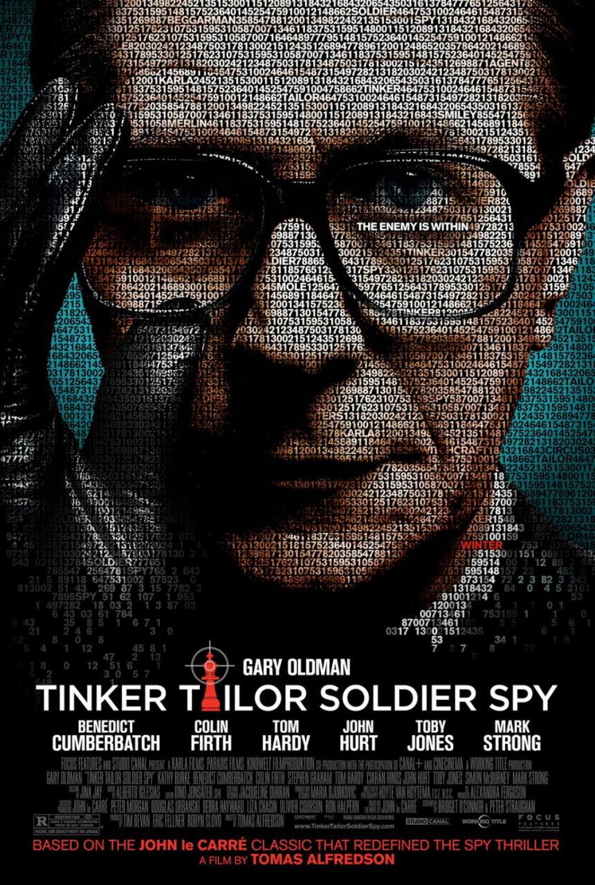 映画『裏切りのサーカス TINKER TAILOR SOLDIER SPY』ポスター(1) ▼ポスター画像クリックで拡大します。