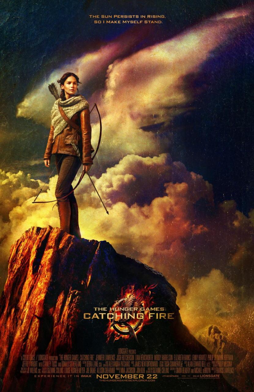 映画『ハンガー・ゲーム2 (2013) THE HUNGER GAMES: CATCHING FIRE』ポスター(2)▼ポスター画像クリックで拡大します。