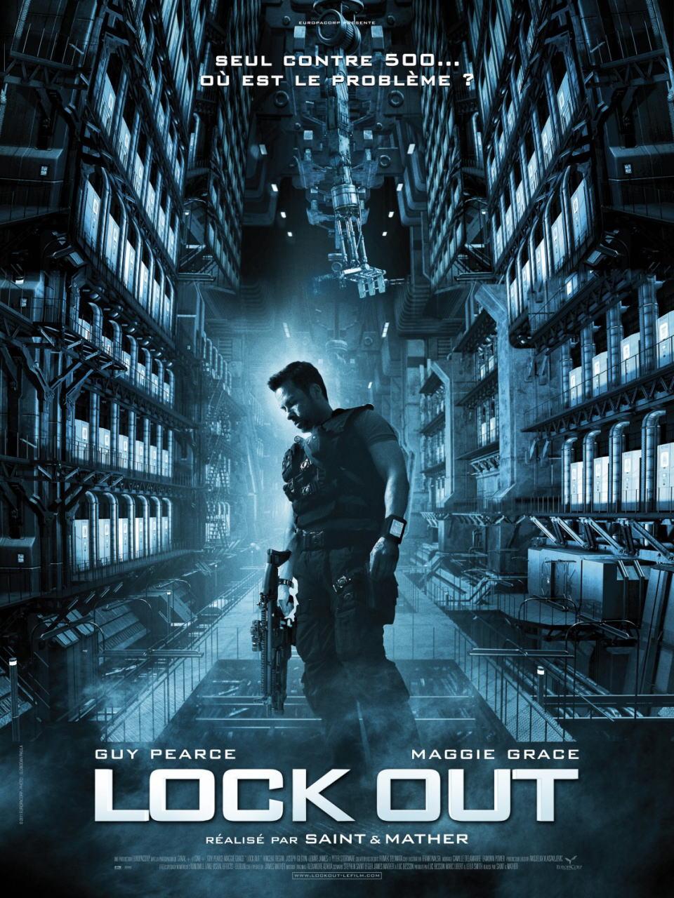 映画『ロックアウト LOCKOUT』ポスター(2) ▼ポスター画像クリックで拡大します。