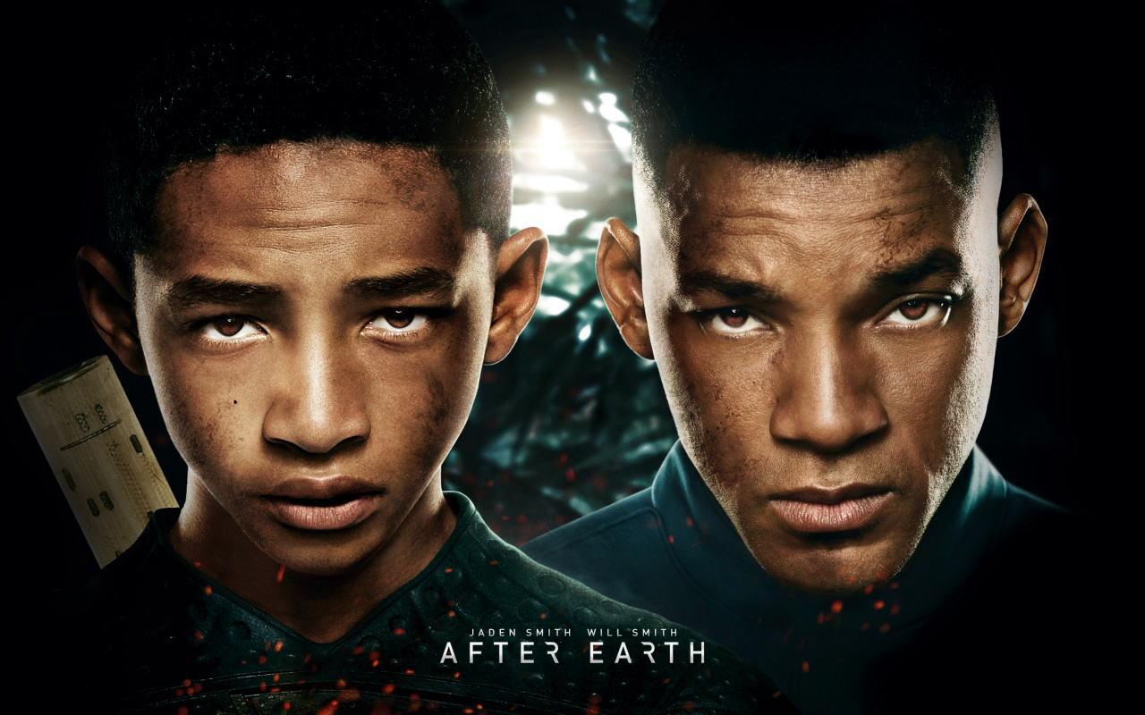 映画『アフター・アース AFTER EARTH』ポスター(3) ▼ポスター画像クリックで拡大します。