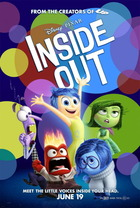 映画『 インサイド・ヘッド (2015) INSIDE OUT 』ポスター