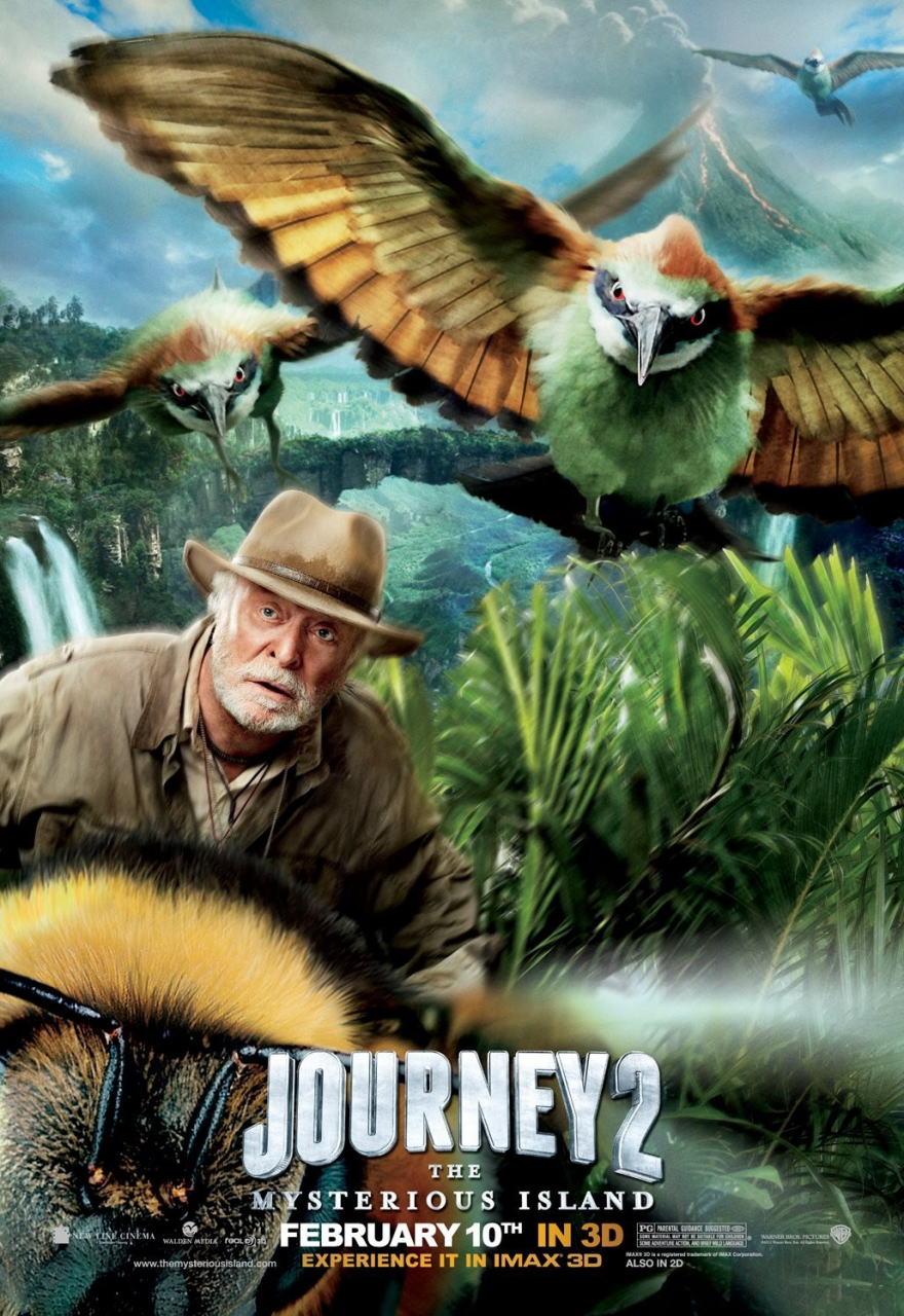 映画『センター・オブ・ジ・アース2 神秘の島 JOURNEY 2: THE MYSTERIOUS ISLAND』ポスター(4)
