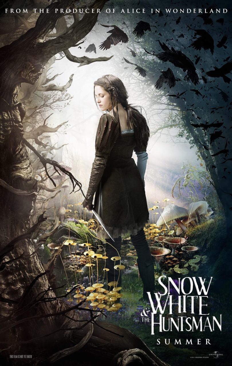 映画『スノーホワイト SNOW WHITE AND THE HUNTSMAN』ポスター(6) ▼ポスター画像クリックで拡大します。