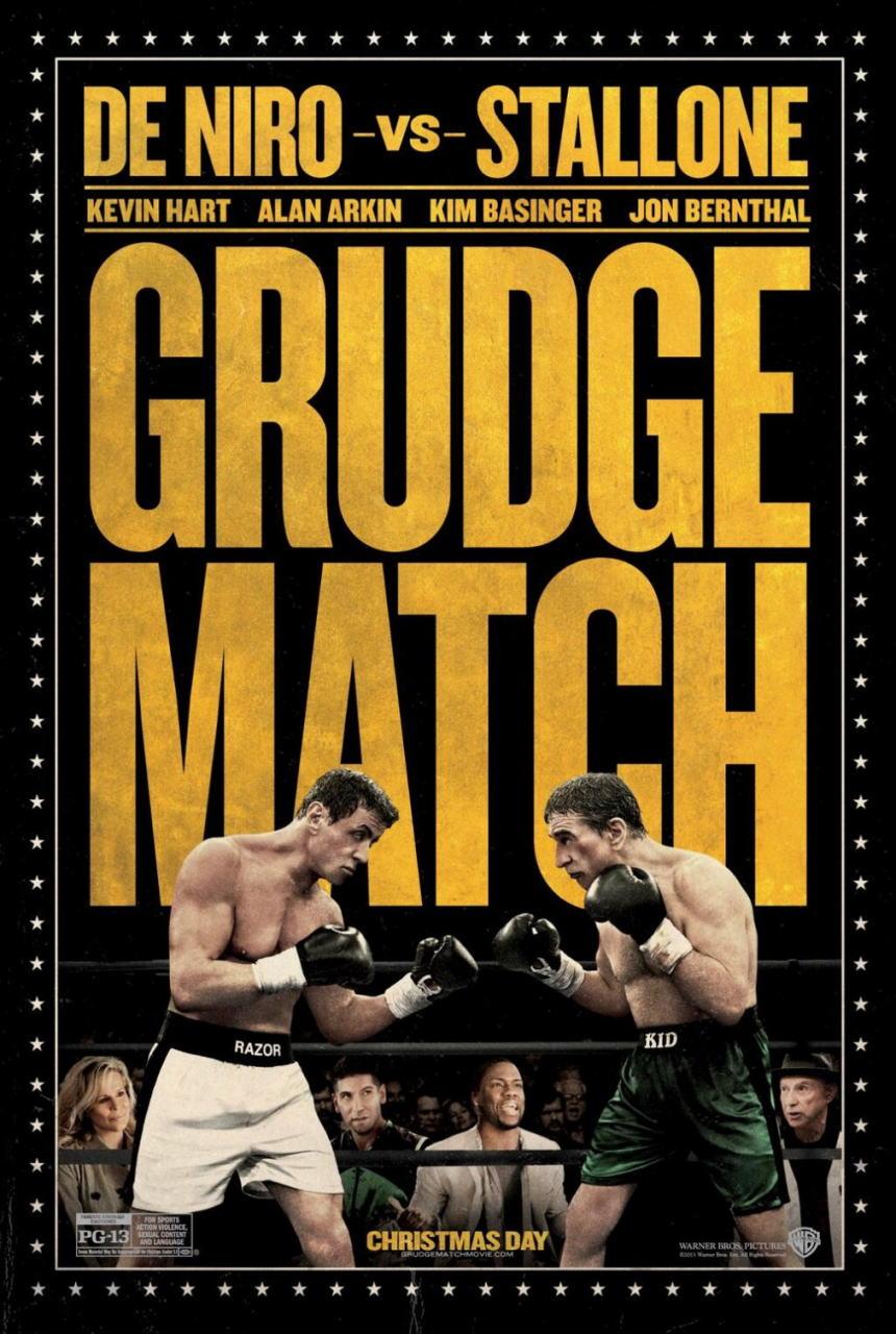 映画『リベンジ・マッチ (2013) GRUDGE MATCH』ポスター(2)▼ポスター画像クリックで拡大します。