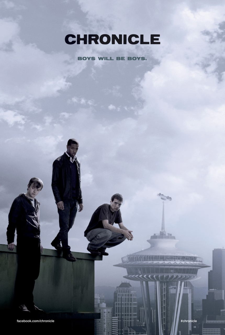 映画『クロニクル (2012) CHRONICLE』ポスター(1)▼ポスター画像クリックで拡大します。