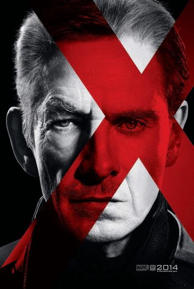 映画『X-MEN:フューチャー&パスト (2014) X-MEN: DAYS OF FUTURE PAST』ポスター(3) ▼ポスター画像クリックで拡大します。