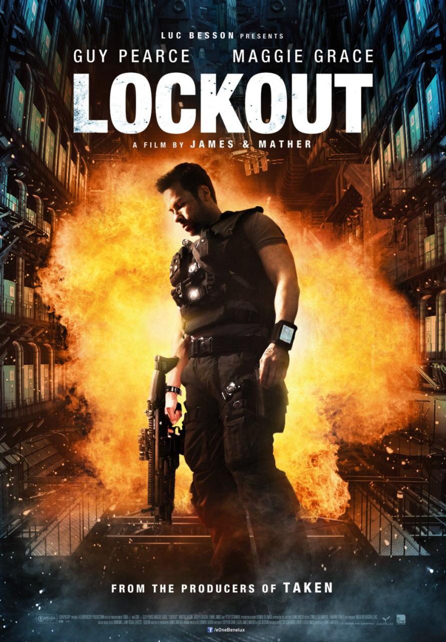 映画『ロックアウト LOCKOUT』ポスター(5) ▼ポスター画像クリックで拡大します。