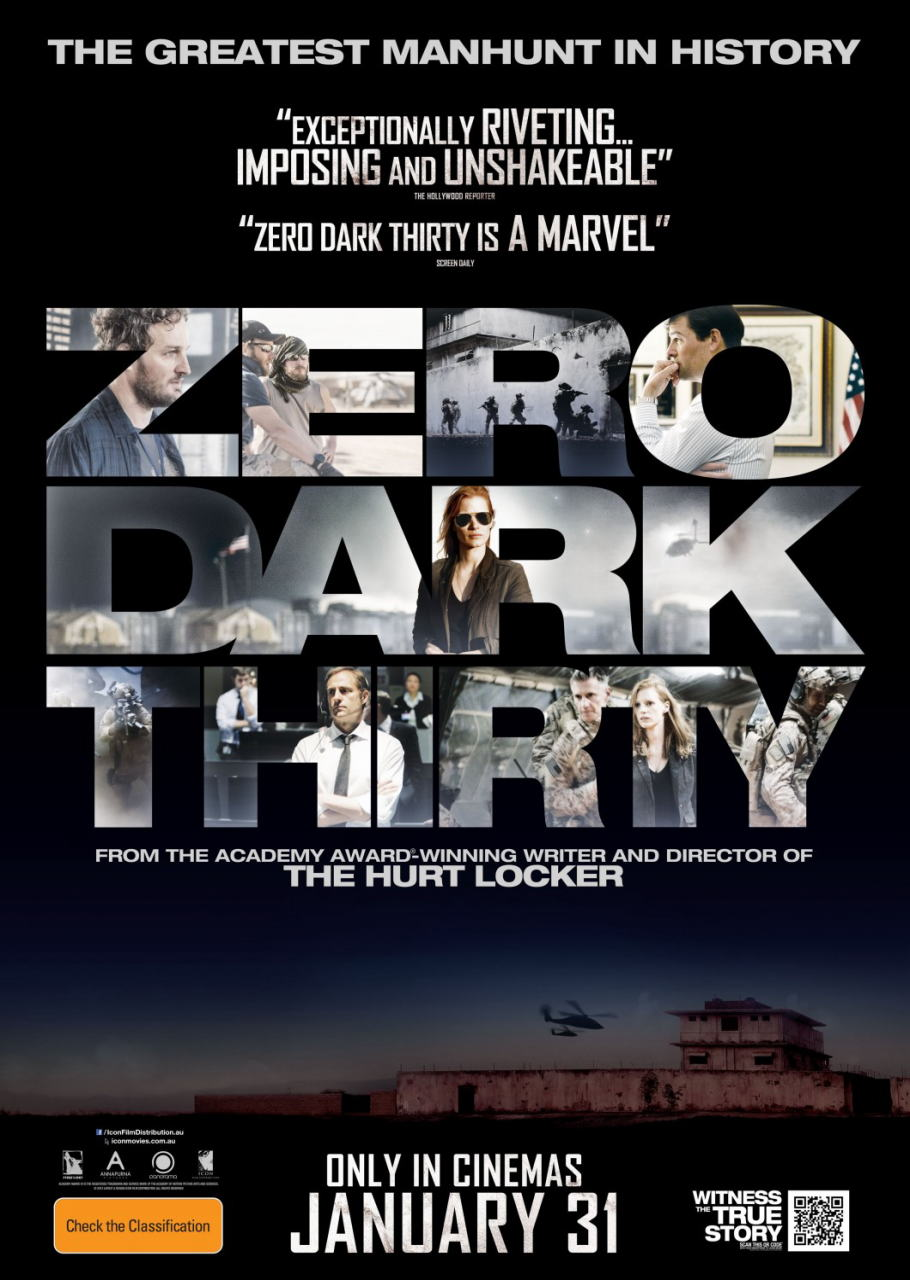 映画『ゼロ・ダーク・サーティ ZERO DARK THIRTY』ポスター(3)▼ポスター画像クリックで拡大します。
