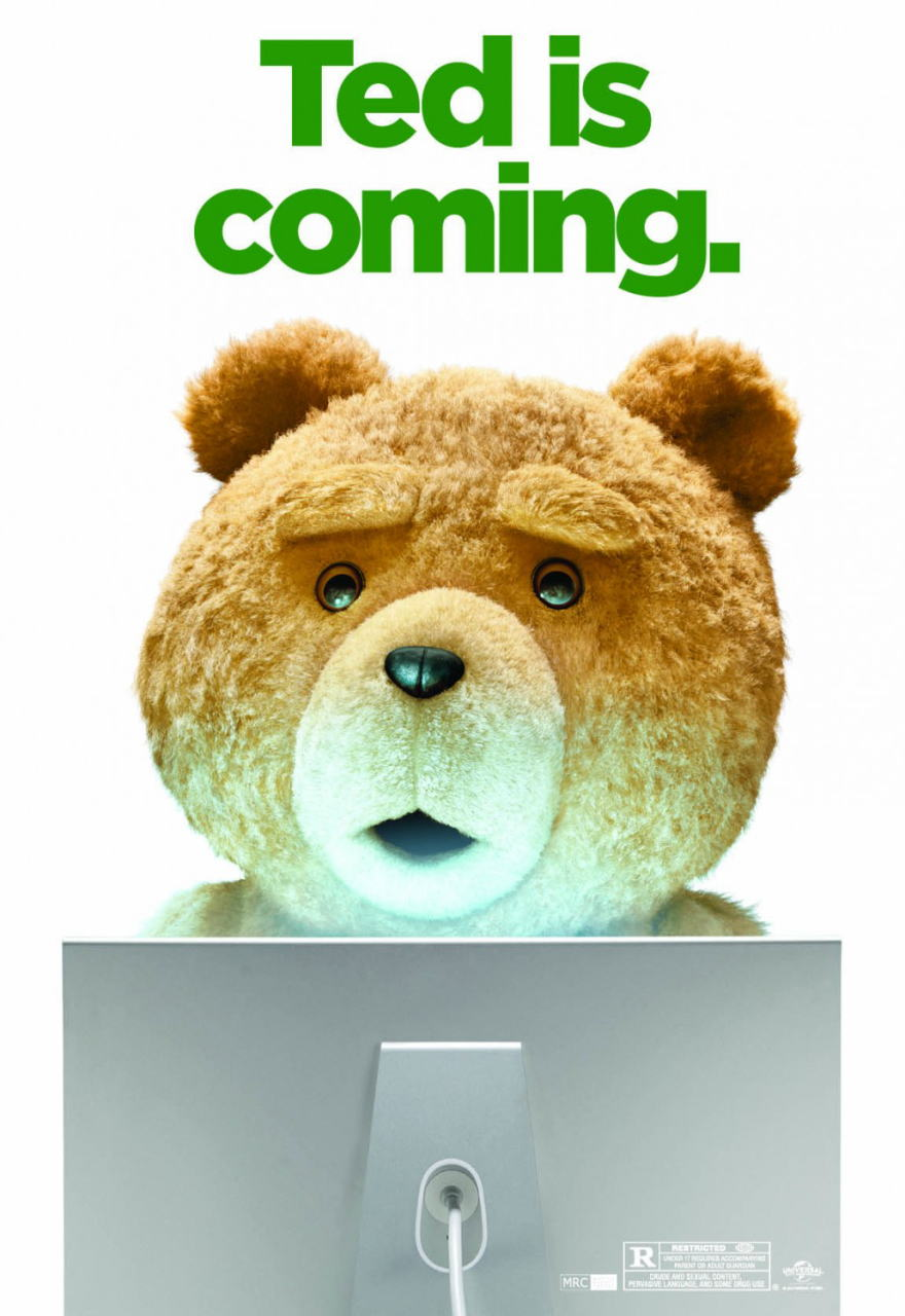 映画『テッド TED』ポスター(5)▼ポスター画像クリックで拡大します。