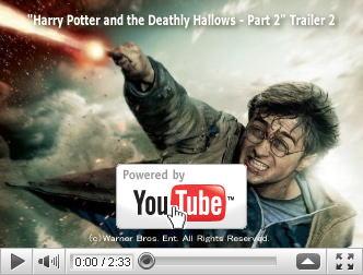 ※クリックでYouTube『ハリー・ポッターと死の秘宝 PART2 HARRY POTTER AND THE DEATHLY HALLOWS: PART II』予告編へ