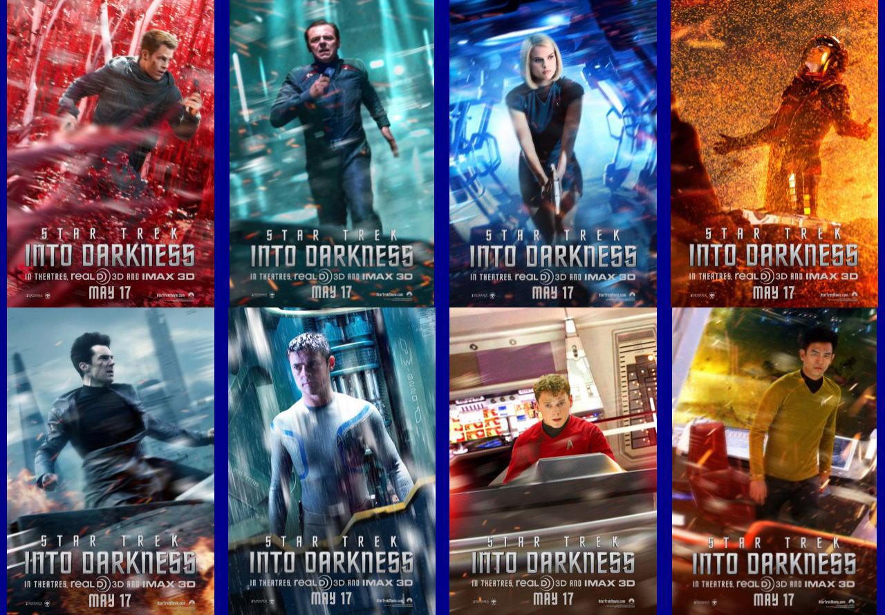 映画『スター・トレック イントゥ・ダークネス (2013) STAR TREK INTO DARKNESS』ポスター(7) ▼ポスター画像クリックで拡大します。