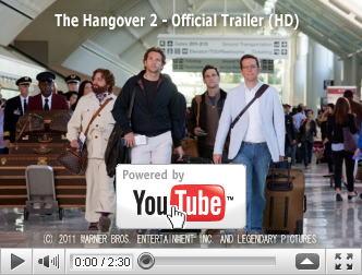 ※クリックでYouTube『ハングオーバー!!史上最悪の二日酔い、国境を越える THE HANGOVER PART II』予告編へ