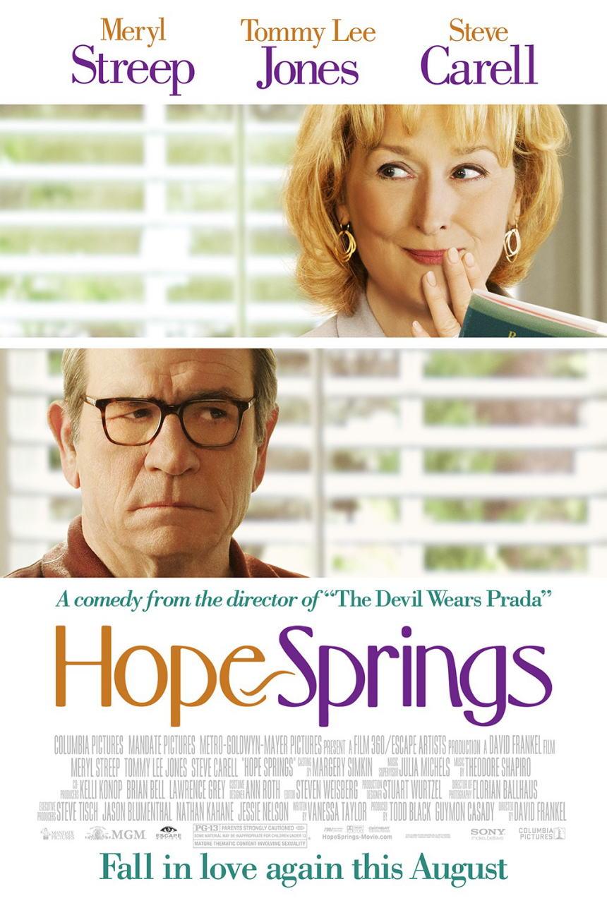 映画『31年目の夫婦げんか HOPE SPRINGS』ポスター(1) ▼ポスター画像クリックで拡大します。