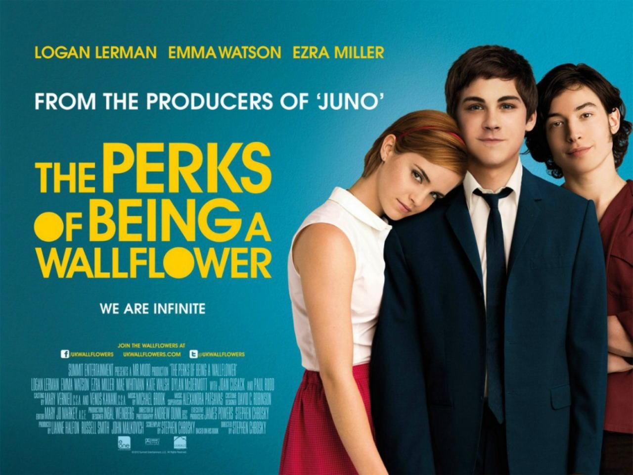映画『ウォールフラワー (2012) BROKEN CITY』ポスター(2) ▼ポスター画像クリックで拡大します。