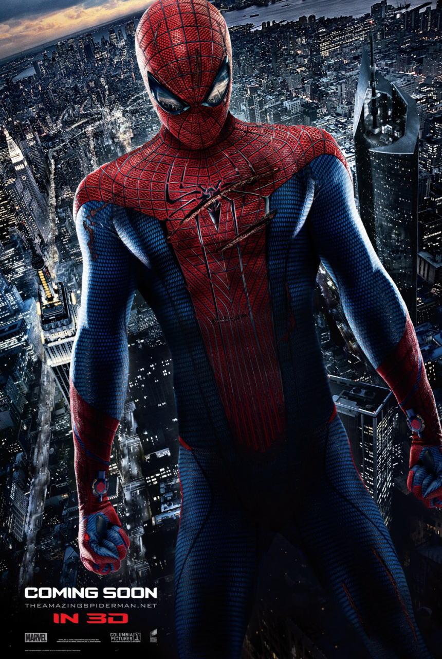 映画『アメイジング・スパイダーマン THE AMAZING SPIDER-MAN』ポスター(2) ▼ポスター画像クリックで拡大します。