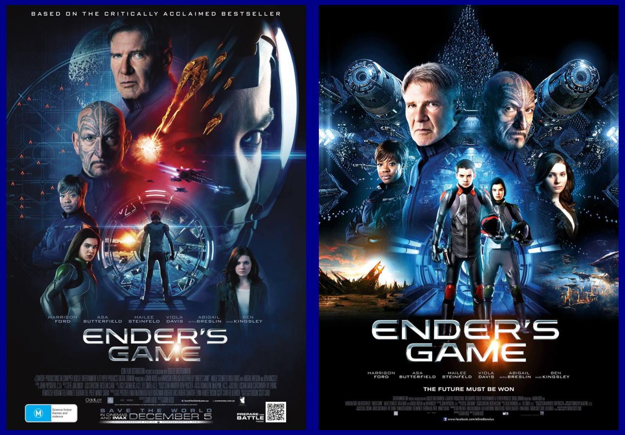 映画『エンダーのゲーム (2013) ENDER'S GAME』ポスター(3) ▼ポスター画像クリックで拡大します。