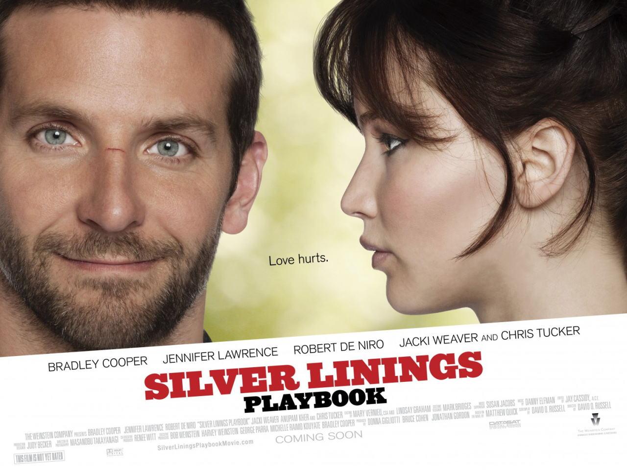 映画『世界にひとつのプレイブック SILVER LININGS PLAYBOOK』ポスター(4) ▼ポスター画像クリックで拡大します。