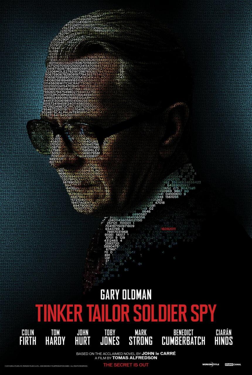 映画『裏切りのサーカス TINKER TAILOR SOLDIER SPY』ポスター(8) ▼ポスター画像クリックで拡大します。