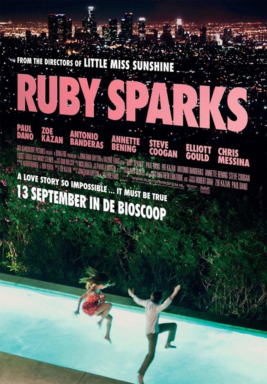 映画『ルビー・スパークス RUBY SPARKS』ポスター(1)▼ポスター画像クリックで拡大します。