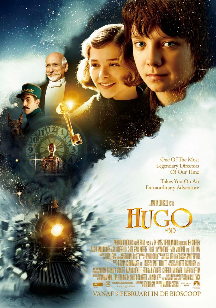 映画『ヒューゴの不思議な発明 HUGO』ポスター(4)