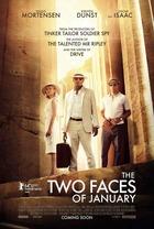 映画『 ギリシャに消えた嘘 (2014) THE TWO FACES OF JANUARY 』ポスター