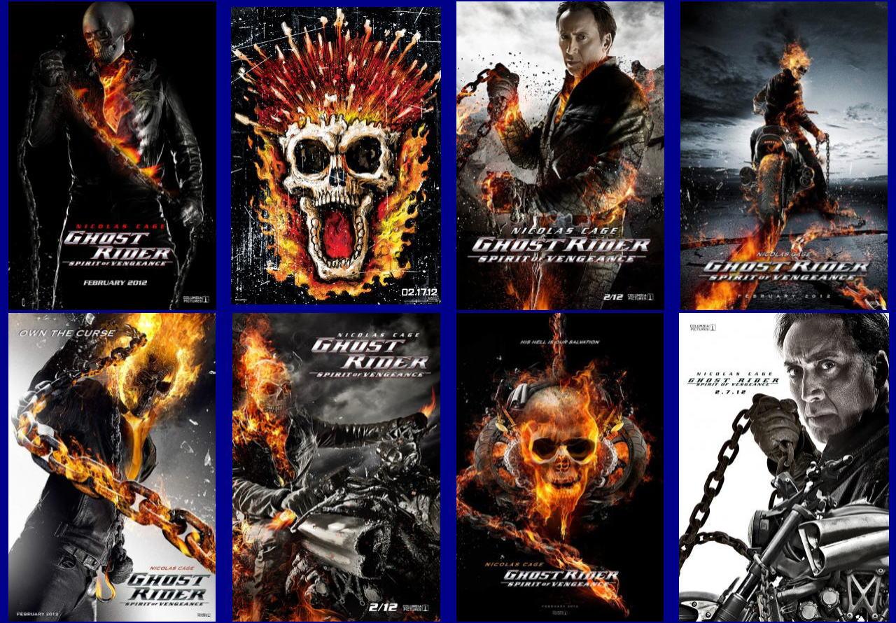 映画『ゴーストライダー2 GHOST RIDER: SPIRIT OF VENGEANCE』ポスター(7)▼ポスター画像クリックで拡大します。
