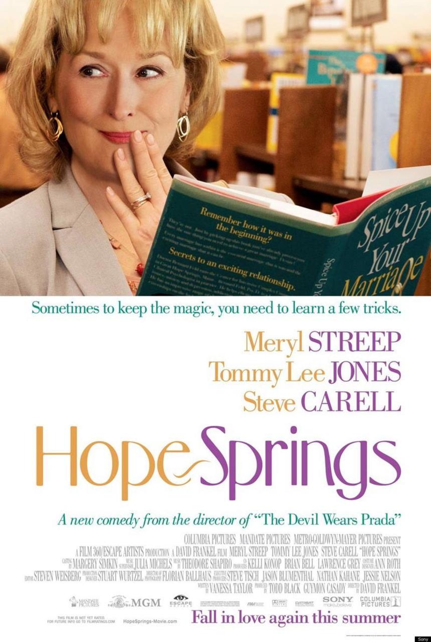 映画『31年目の夫婦げんか HOPE SPRINGS』ポスター(2)▼ポスター画像クリックで拡大します。