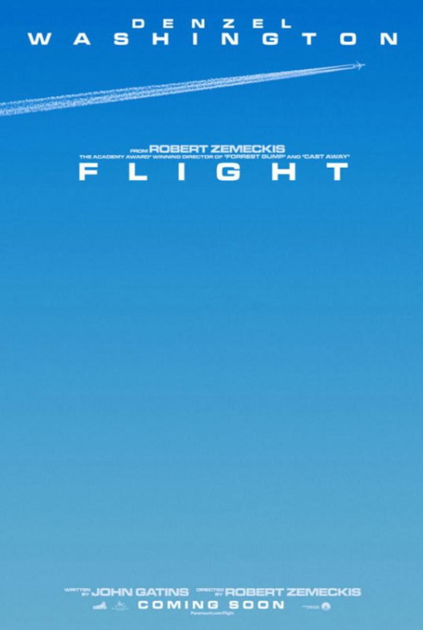 映画『フライト FLIGHT』ポスター(3) ▼ポスター画像クリックで拡大します。