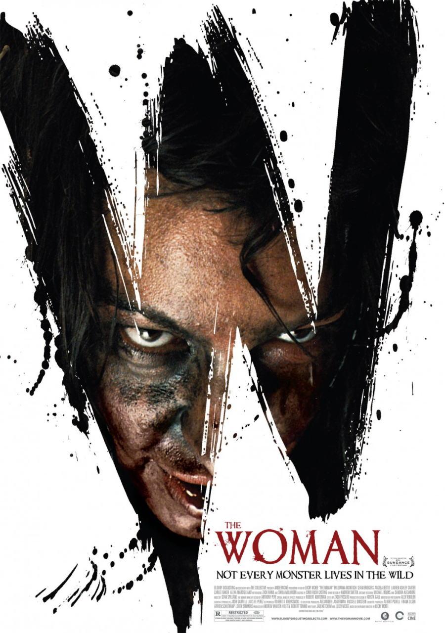 映画『ザ・ウーマン PROMETHEUS』ポスター(1)▼ポスター画像クリックで拡大します。
