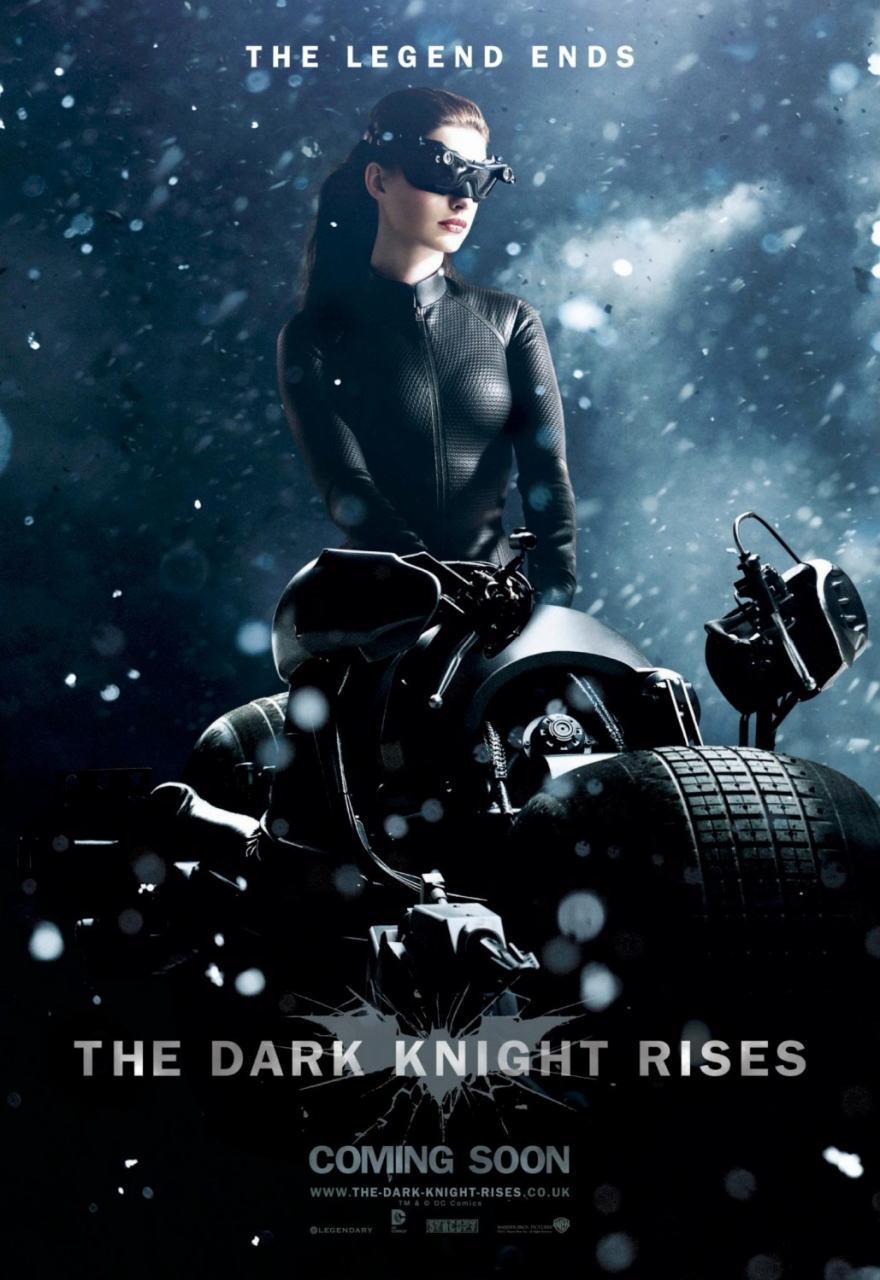 映画『ダークナイト ライジング THE DARK KNIGHT RISES』ポスター(8)▼ポスター画像クリックで拡大します。