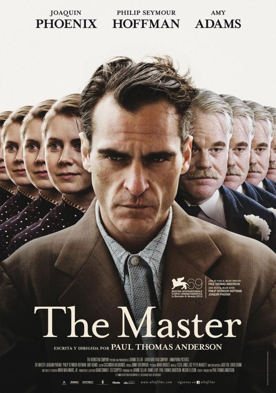 映画『ザ・マスター THE MASTER』ポスター(2)▼ポスター画像クリックで拡大します。