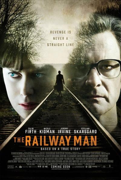 映画『レイルウェイ 運命の旅路 (2013) THE RAILWAY MAN』ポスター(1) ▼ポスター画像クリックで拡大します。