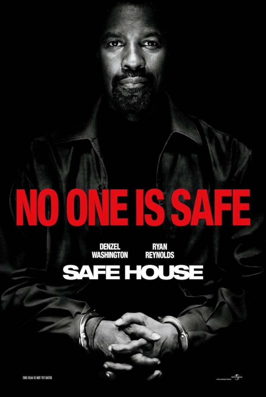 映画『デンジャラス・ラン SAFE HOUSE』ポスター(3) ▼ポスター画像クリックで拡大します。