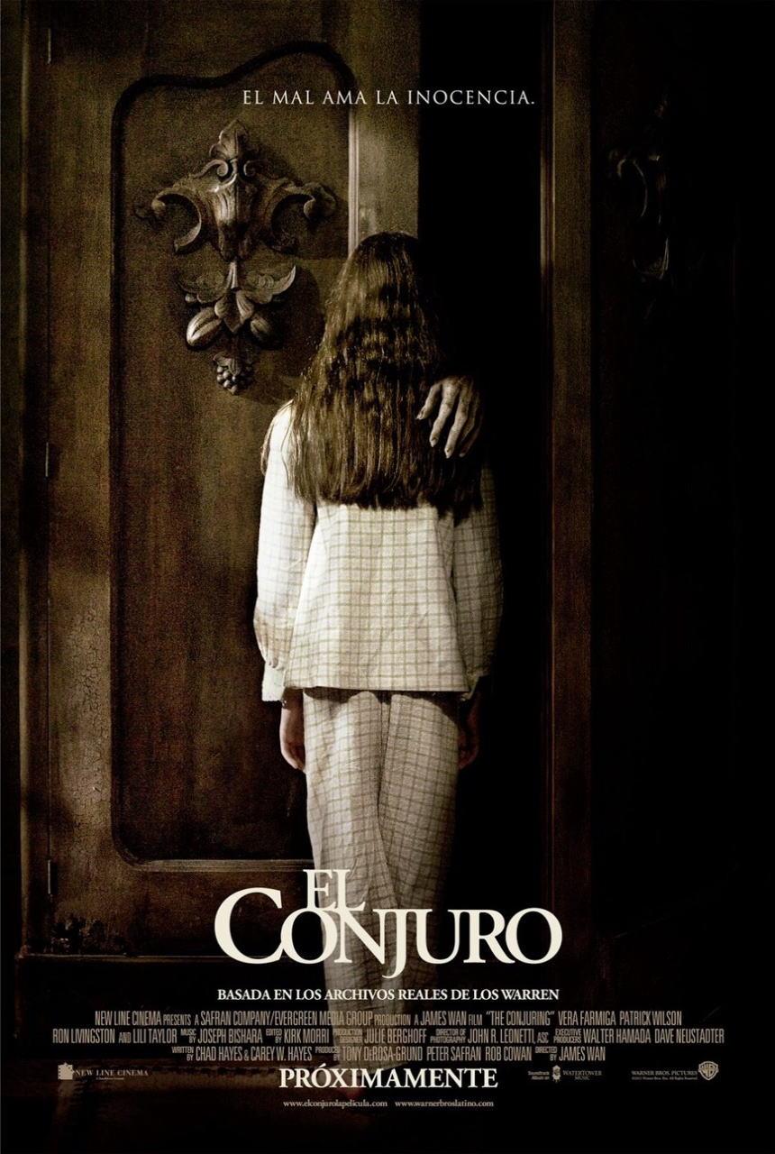 映画『死霊館 (2013) THE CONJURING』ポスター(4)▼ポスター画像クリックで拡大します。