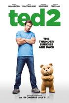 映画『 テッド2 (2015) TED 2 』ポスター