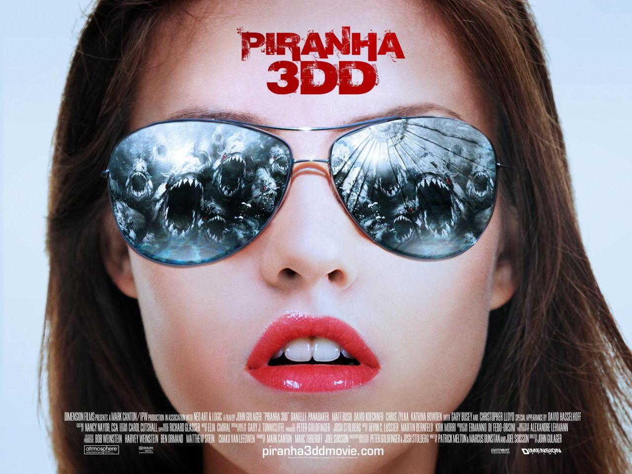 映画『ピラニア リターンズ PIRANHA 3DD』ポスター(4) ▼ポスター画像クリックで拡大します。