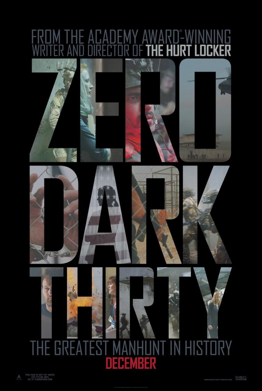 映画『ゼロ・ダーク・サーティ ZERO DARK THIRTY』ポスター(1) ▼ポスター画像クリックで拡大します。