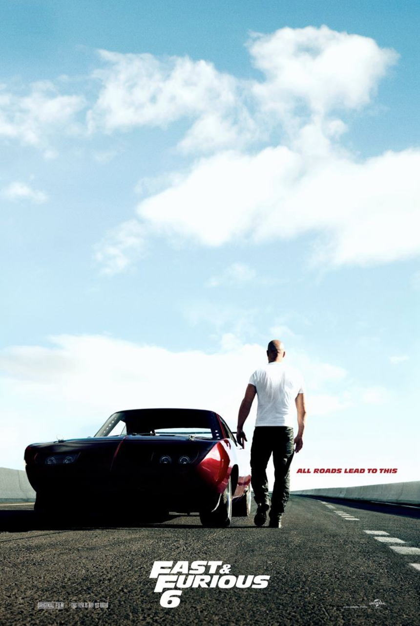映画『ワイルド・スピード EURO MISSION (2013) FAST & FURIOUS 6』ポスター(2) ▼ポスター画像クリックで拡大します。