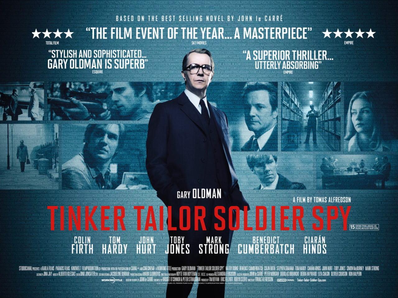 映画『裏切りのサーカス TINKER TAILOR SOLDIER SPY』ポスター(3) ▼ポスター画像クリックで拡大します。