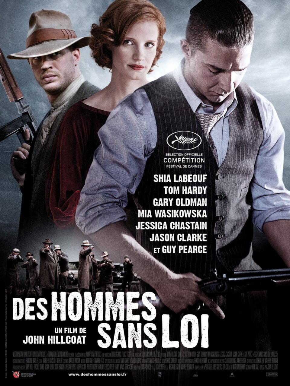 映画『欲望のバージニア (2012) LAWLESS』ポスター(3)▼ポスター画像クリックで拡大します。