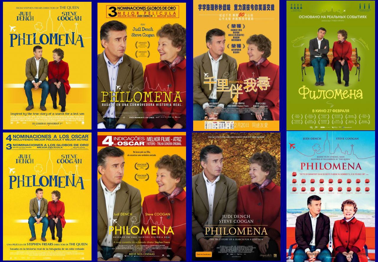 映画『あなたを抱きしめる日まで (2013) PHILOMENA』ポスター(4) ▼ポスター画像クリックで拡大します。