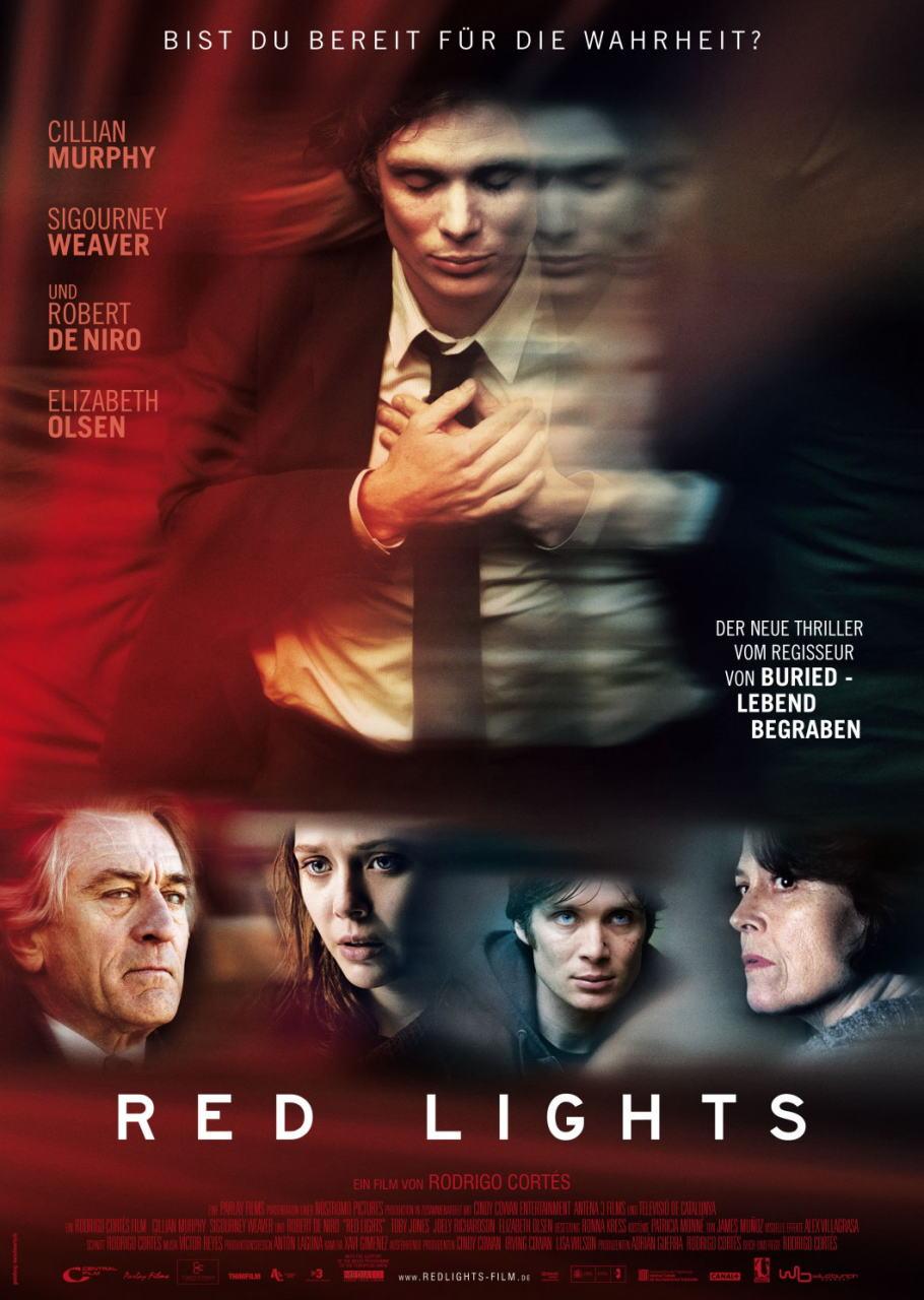 映画『レッド・ライト RED LIGHTS』ポスター(2) ▼ポスター画像クリックで拡大します。