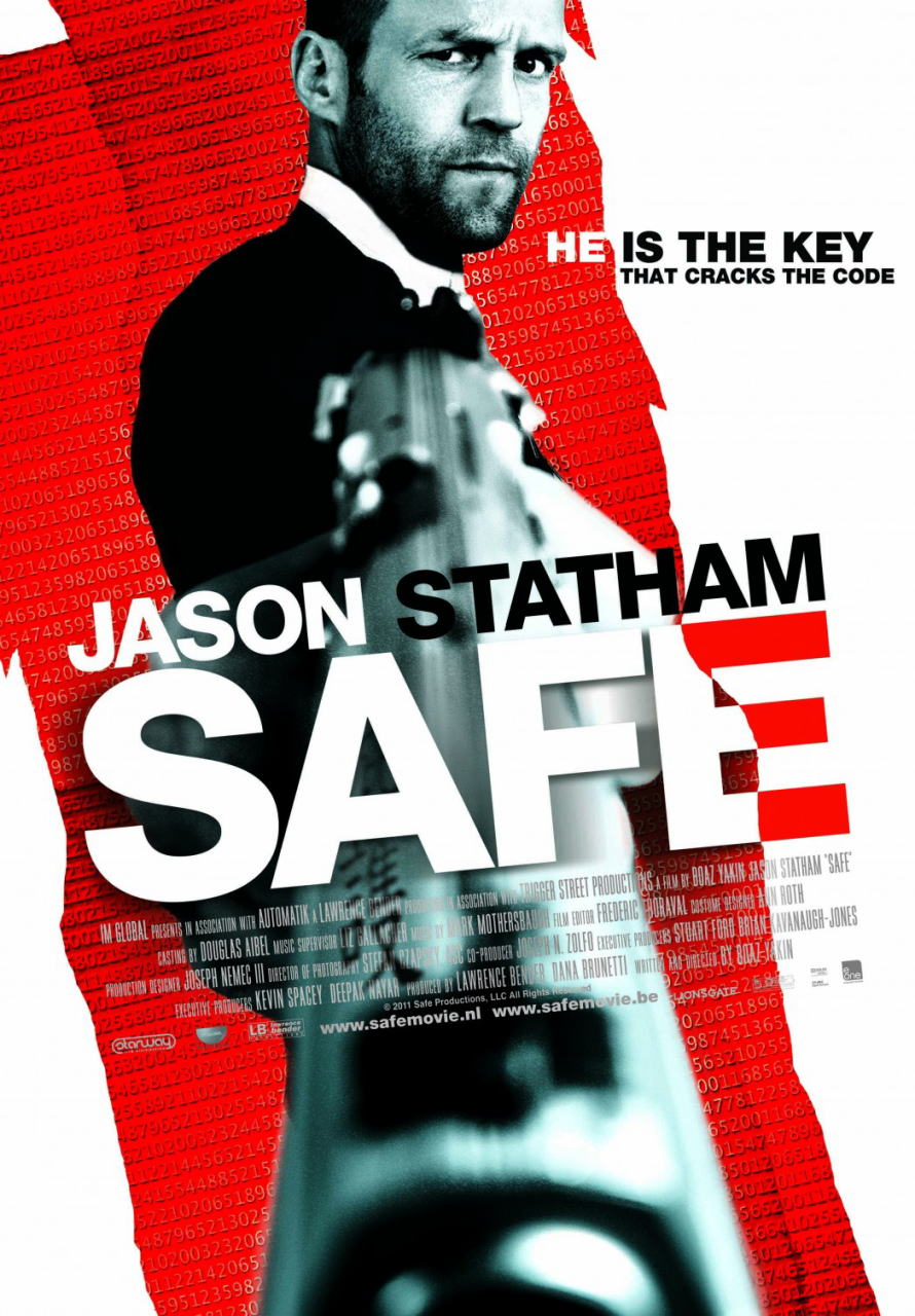 映画『SAFE/セイフ SAFE』ポスター(3) ▼ポスター画像クリックで拡大します。
