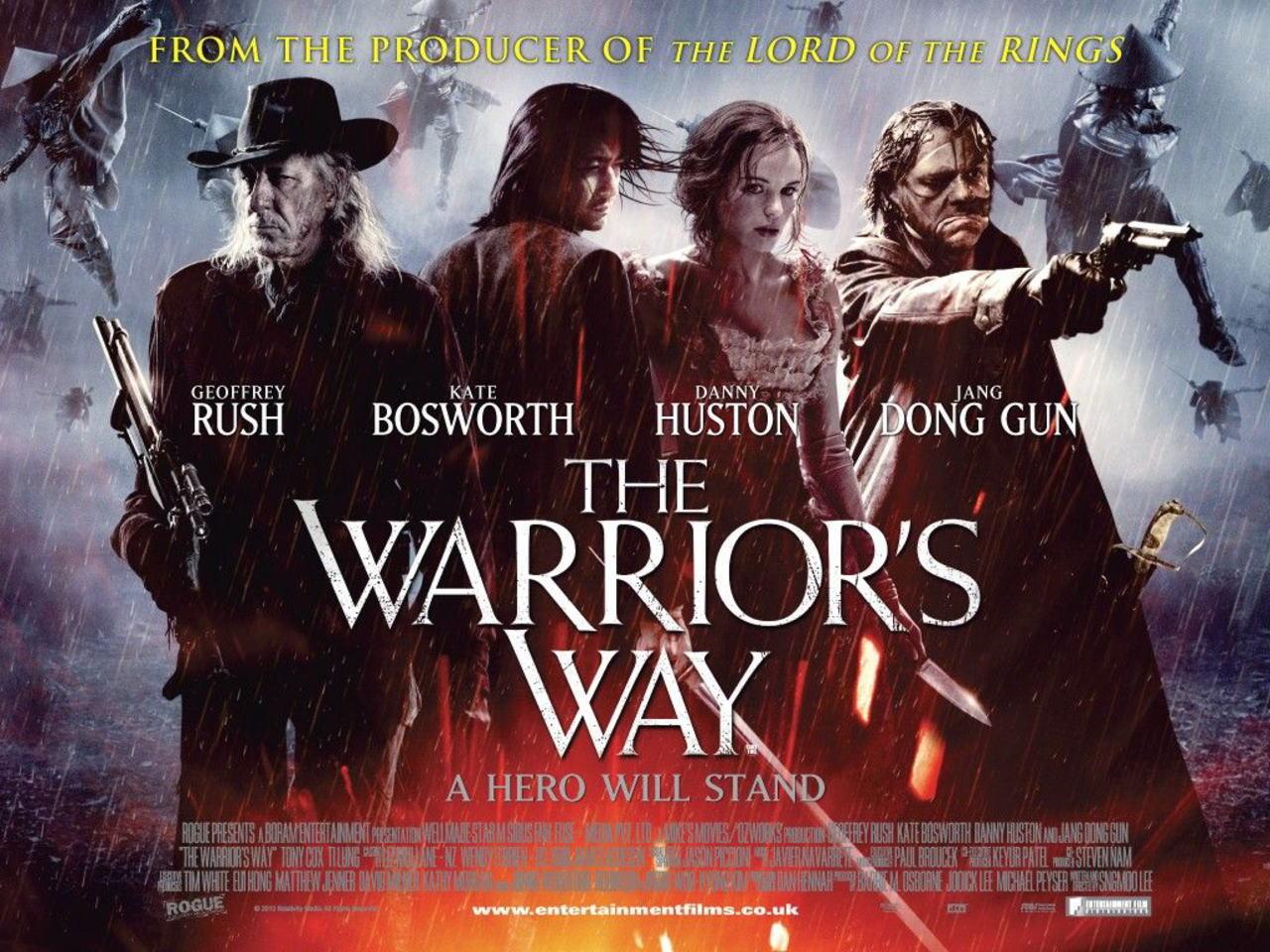 映画『決闘の大地で THE WARRIOR'S WAY』ポスター(2) ▼ポスター画像クリックで拡大します。